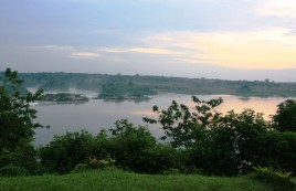 Jinja, the source of the Nile