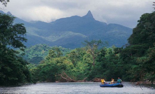 Magnificent views of the Rio Plantano Reserve