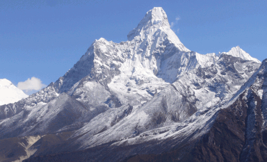 Amadablam in the Nepalese Himalaya
