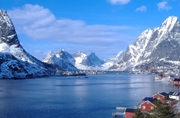 The mighty fjords of Lofoten